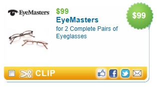 EYEMASTERS EYE GLASSES Glass Eye